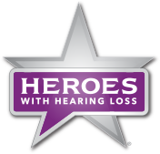 Heroes With Hearing Loss logo